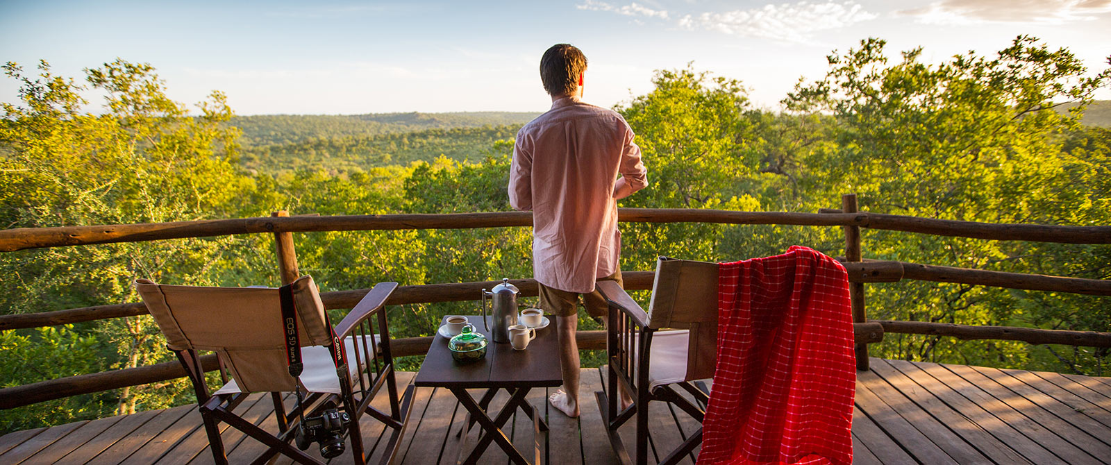 Private Balcony at Treetops Lodge, Tarangire National Park, Tanzania