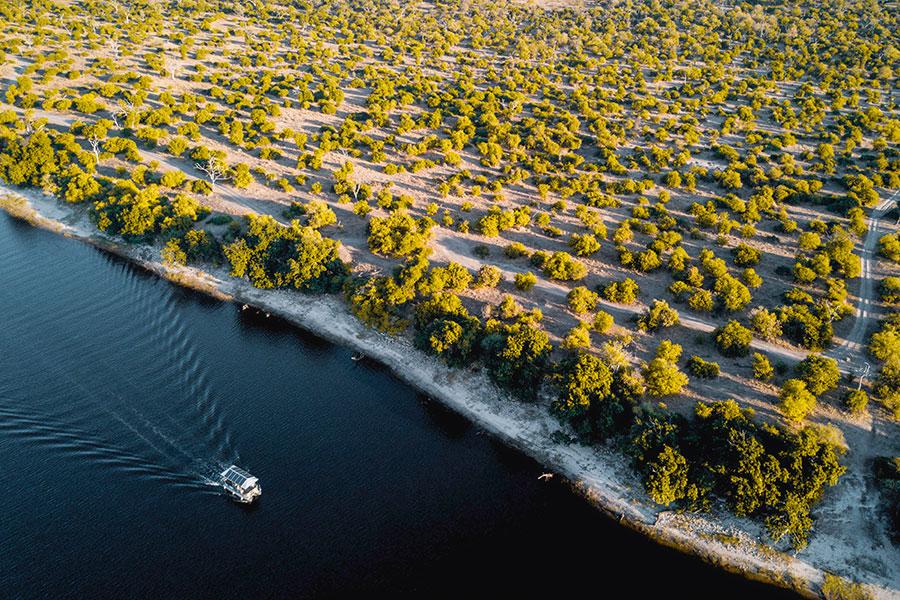 Chobe River safaris in Botswana