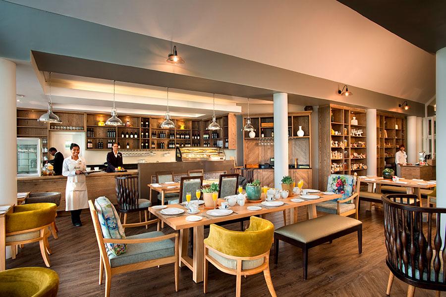 Monet's restaurant at Fancourt Hotel