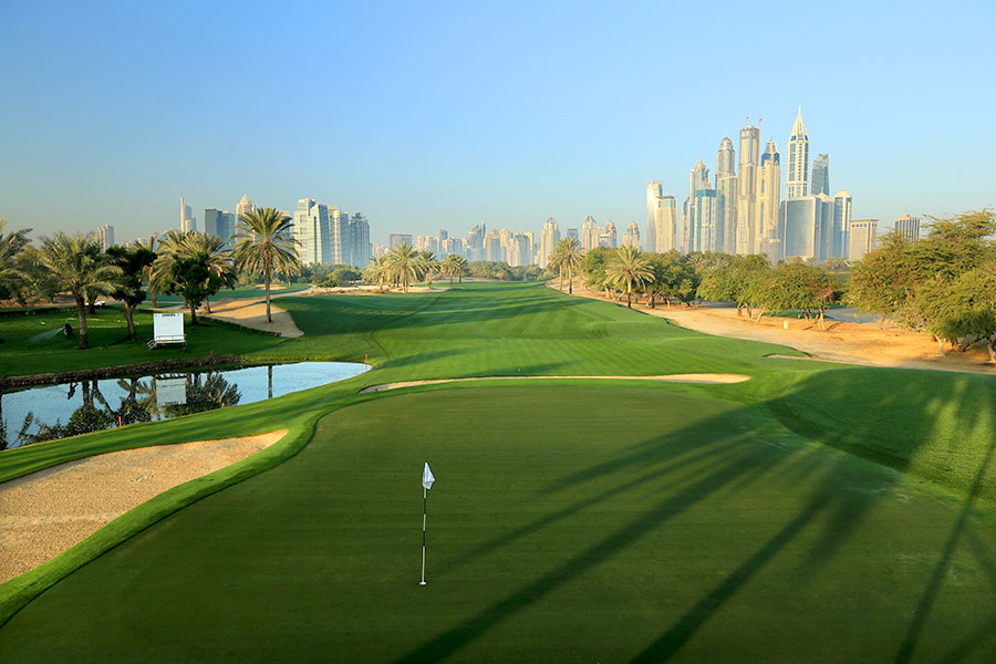 13th Hole at The Majlis - Emirates Golf Club, Dubai