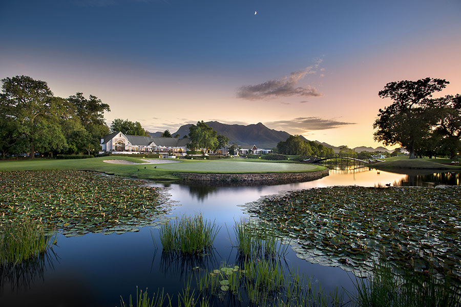 Clubhouse at Fancourt Montagu Golf Course, South Africa
