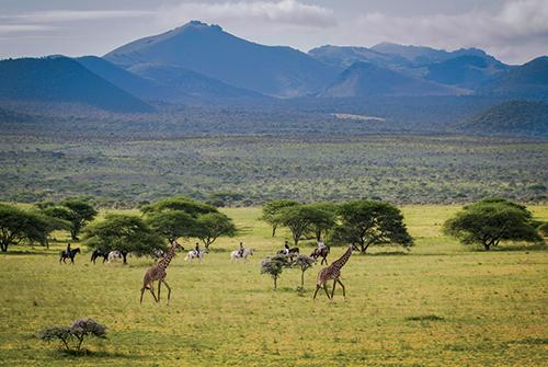 Horseback Safari in Chyulu Hills, Kenya - Ol Donyo Lodge