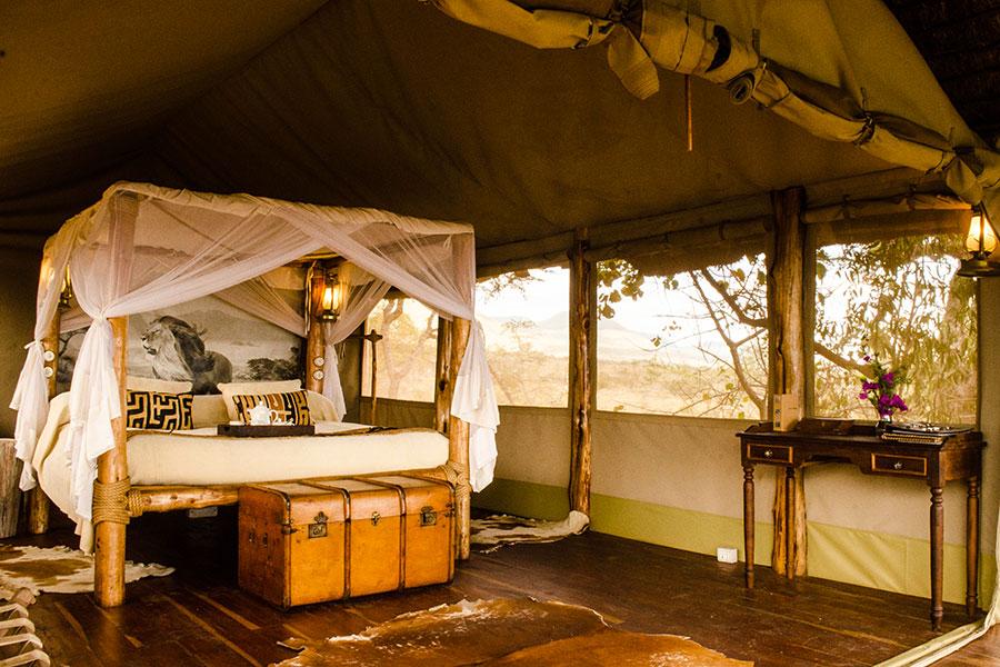 Room at Campi Ya Kanzi - Safari Camp in Kenya