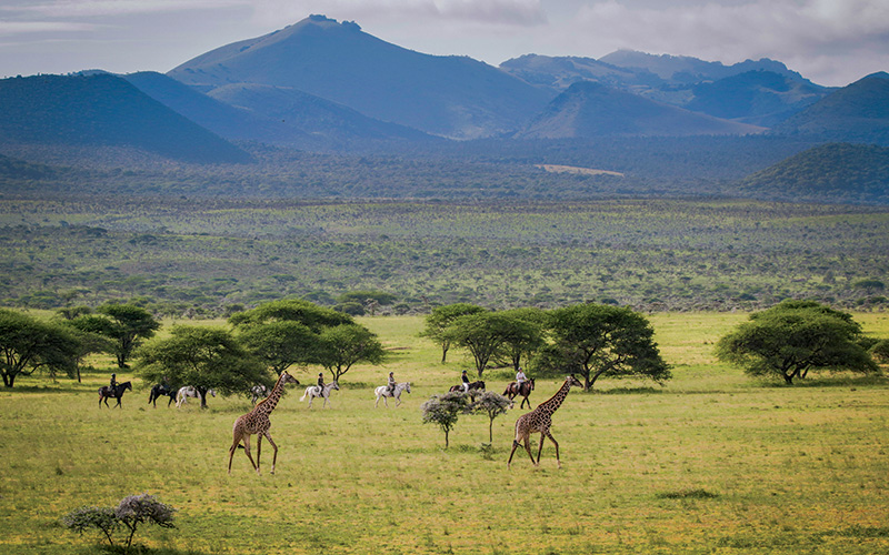 Horseback Safari in Chyulu Hills, Kenya - Ol Donyo Lodge